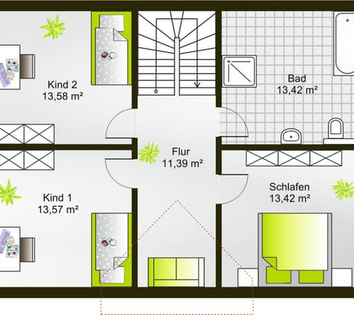 Hausidee 133 SD floor_plans 0