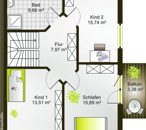 Hausidee 135 SD floor_plans 0