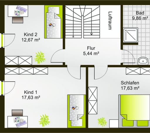 Hausidee 138 SD floor_plans 0