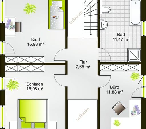 Hausidee 140 SD floor_plans 0
