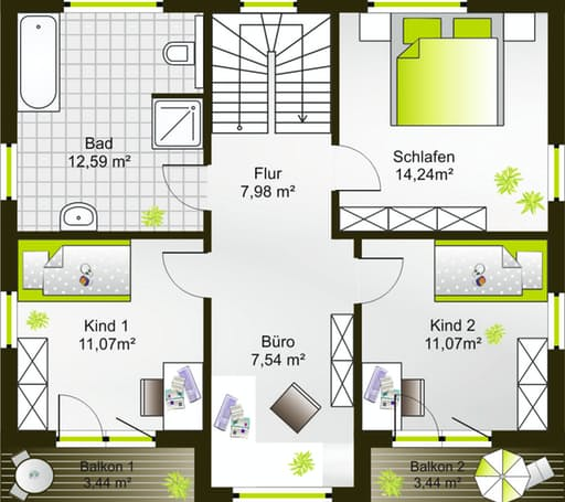 Hausidee 140 VPD floor_plans 0