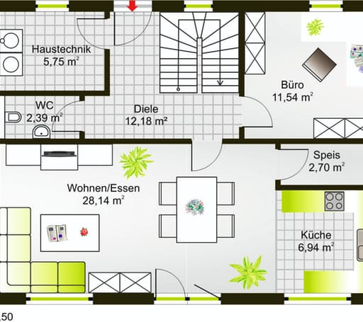 Hausidee 148 SD floor_plans 1