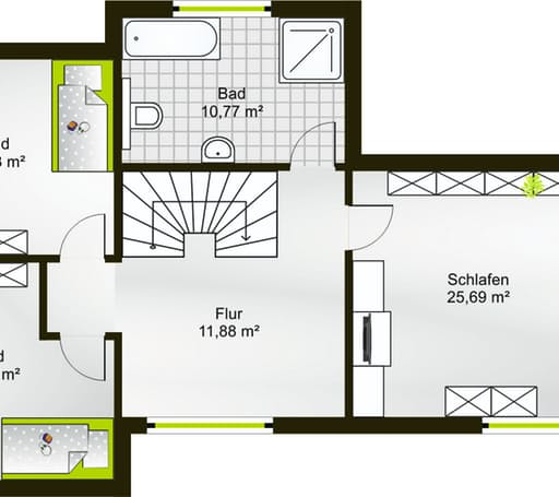 Hausidee 160 FD floor_plans 0