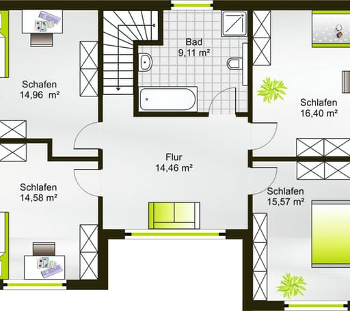 Hausidee 164 FD floor_plans 0