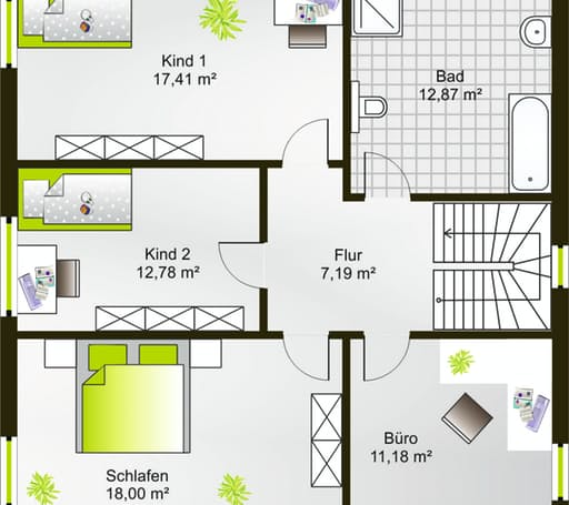 Hausidee 164 WD floor_plans 0
