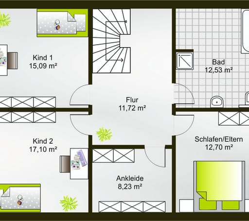 Hausidee 167 SD floor_plans 0