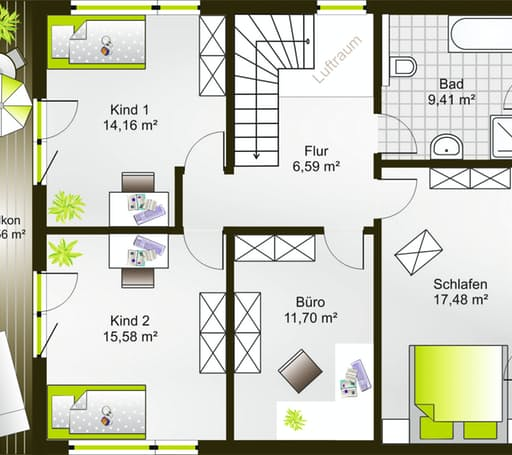 Hausidee 169 SD floor_plans 0