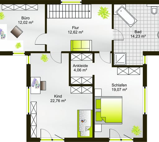 Hausidee 173 FD floor_plans 0