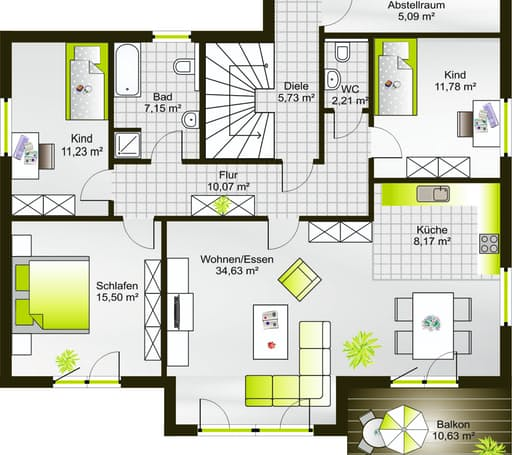 Hausidee 238 VPD floor_plans 0