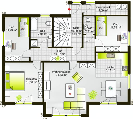 Hausidee 238 VPD floor_plans 1