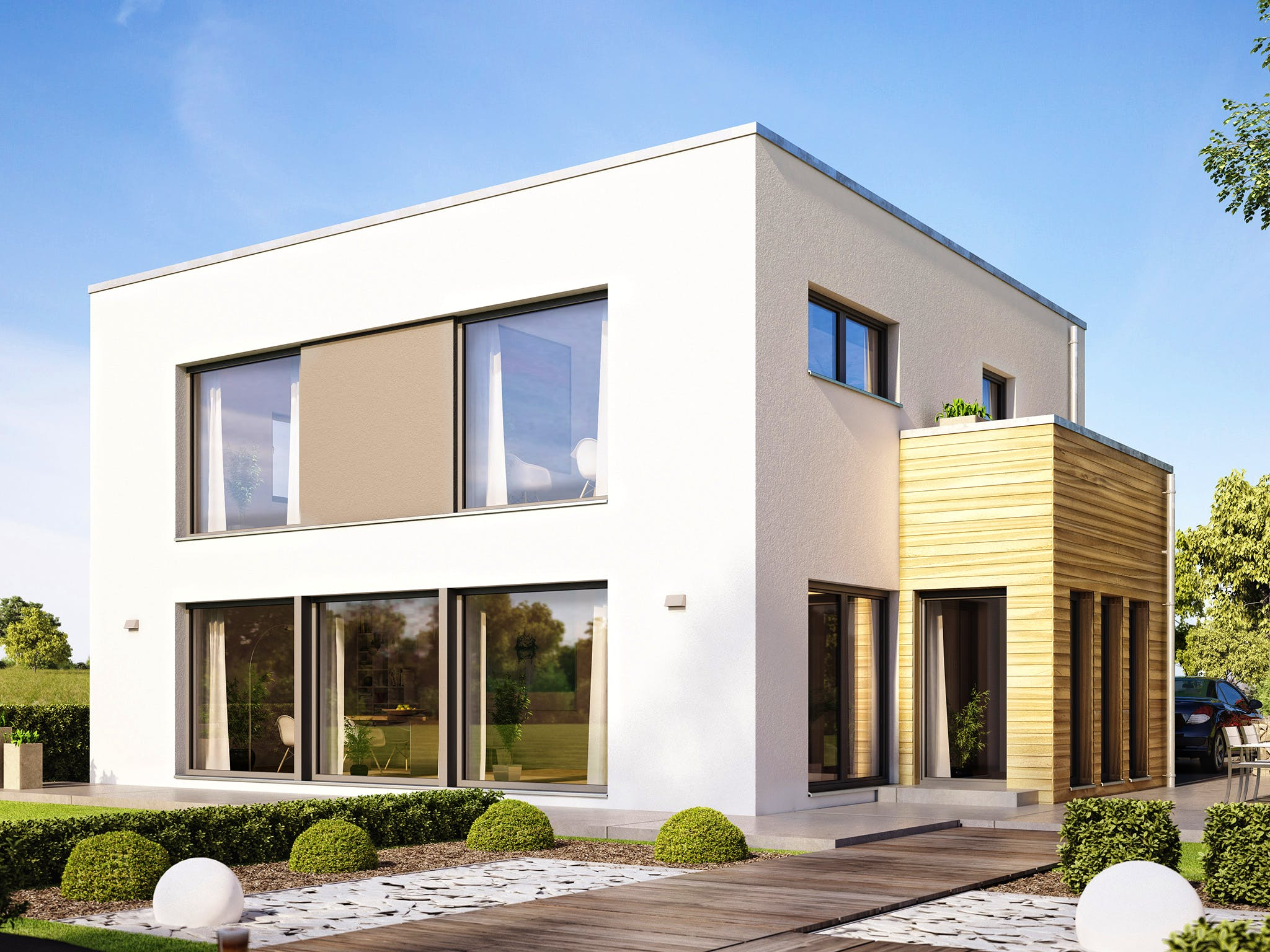 Hausstil Bauhaus