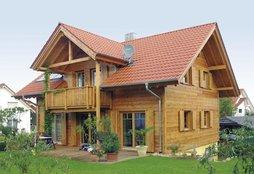 Haustypen Blockhaus