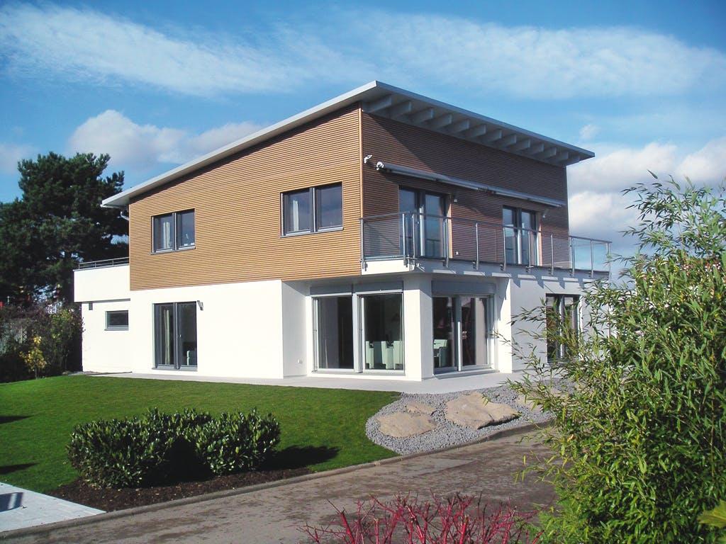 Haustypen Pultdachhaus