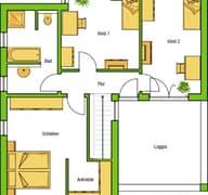 Hausvorschlag Madrid V Grundriss