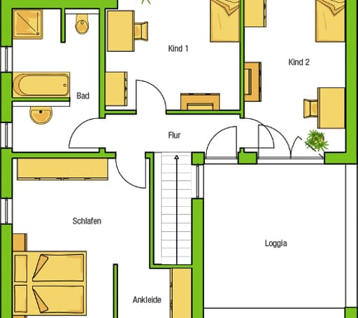 Hausvorschlag Madrid V (ecoSolar-Haus) floor_plans 2