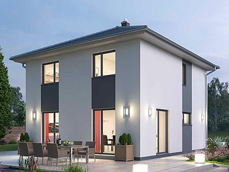 Moderne Stadtvilla von Havel Bausatzhaus