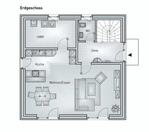 Hebel - Stadthaus 22.32 Floorplan 1