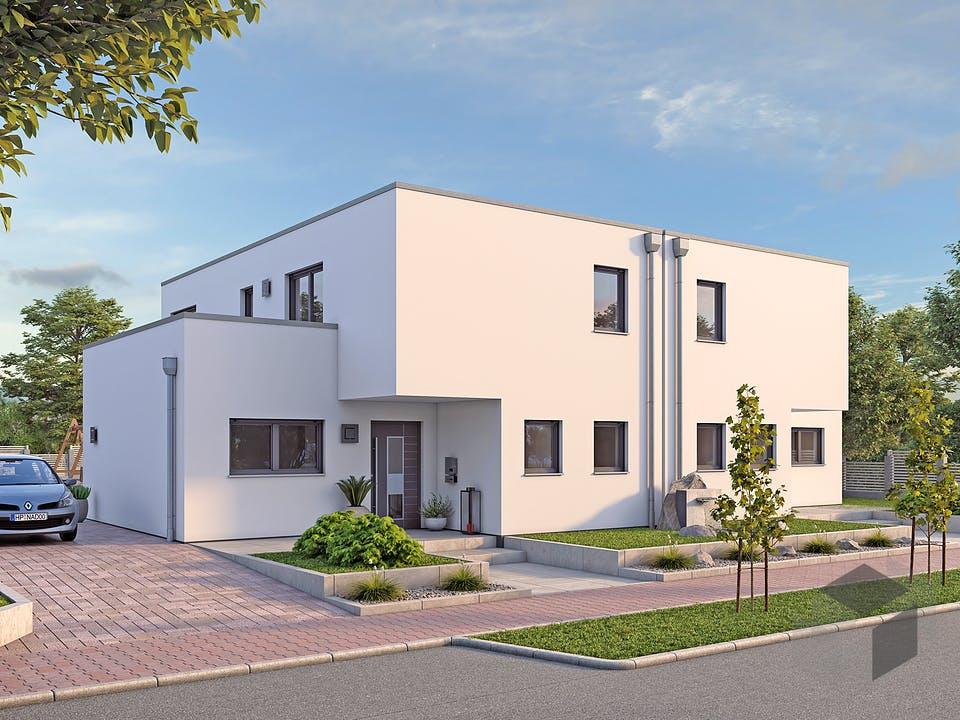 DHH Bauhaus 130 von hebelHAUS Außenansicht