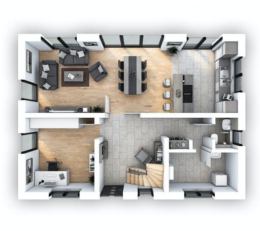 Hebel - EFH Klassik 118 Floorplan 1