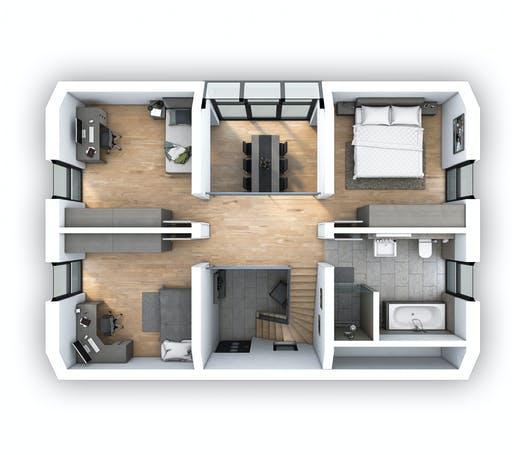 Hebel - EFH Klassik 118 Floorplan 2