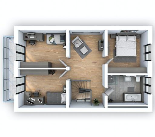 Hebel - EFH Klassik 138 Floorplan 2
