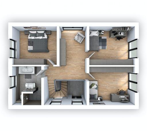 Hebel - EFH Klassik 140 Floorplan 2