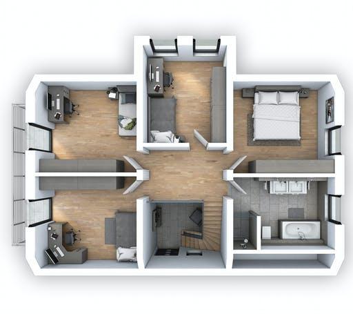 Hebel - EFH Klassik 148 Floorplan 2
