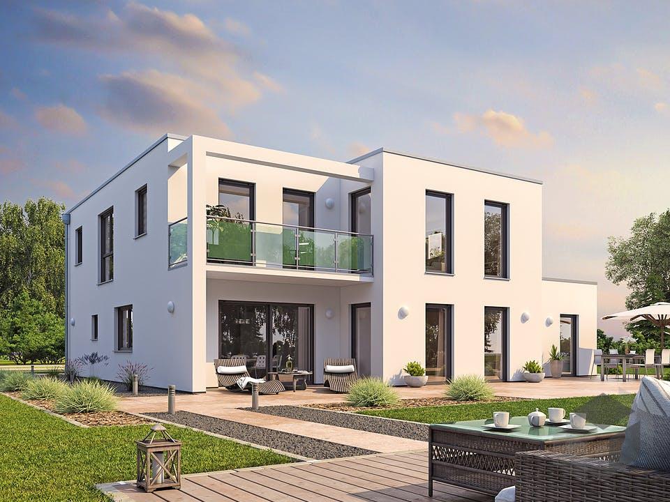 EFH PLUS Bauhaus 178 von hebelHAUS Außenansicht