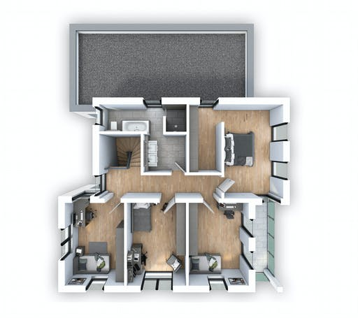 Hebel - EFH PLUS Bauhaus 178 Floorplan 2