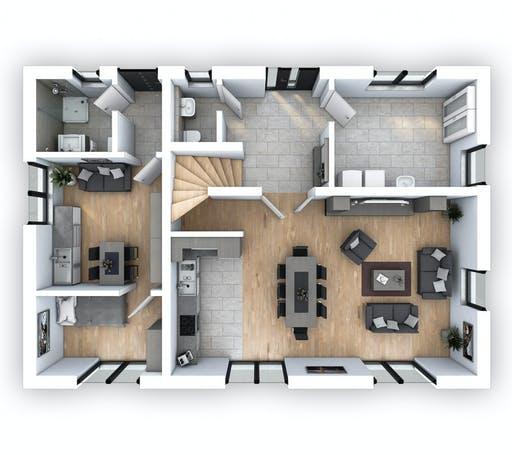 Hebel - EFH PLUS Klassik 156 Floorplan 1