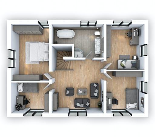 Hebel - EFH PLUS Klassik 156 Floorplan 2