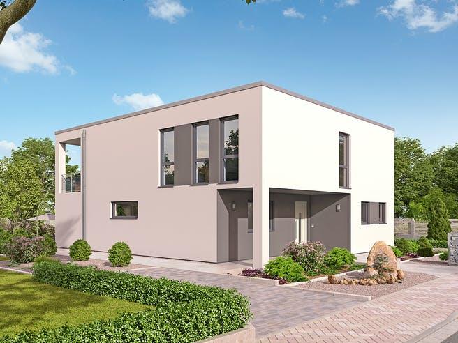 EFH Bauhaus 193 von hebelHAUS Außenansicht 1