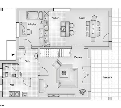 Hebel - Kubus 25.38 Floorplan 1