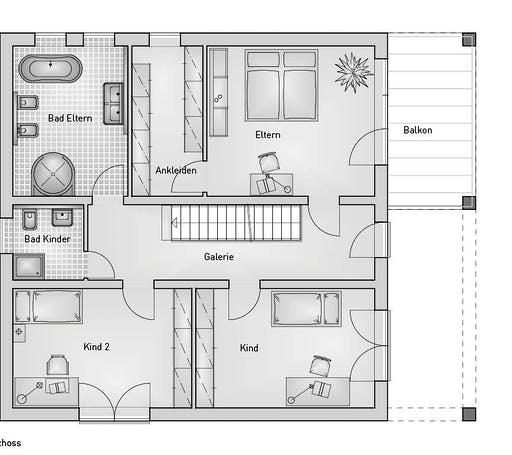 Hebel - Kubus 25.38 Floorplan 2