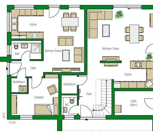 Helma - Amsterdam Floorplan 1
