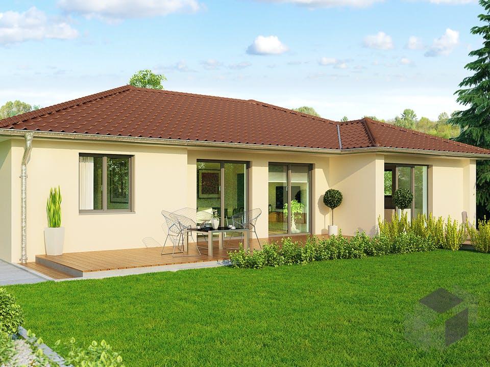 Bozen Variante von HELMA Eigenheimbau Außenansicht
