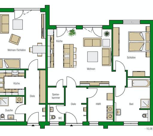 Helma - Bozen 2 Floorplan 1
