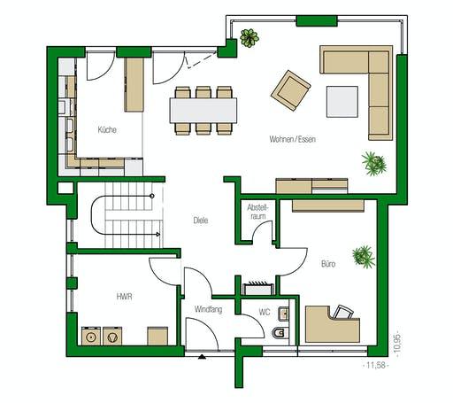 Helma - Brüssel Floorplan 1