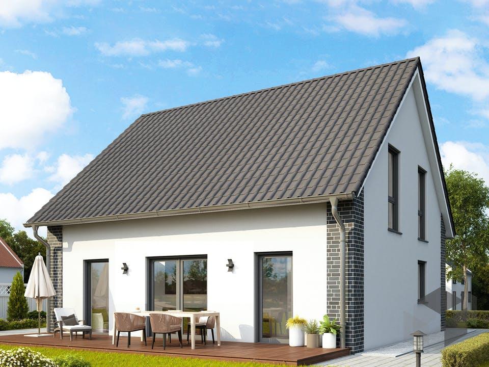 Davos von HELMA Eigenheimbau Außenansicht