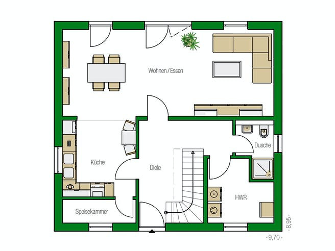 Helma - Davos Floorplan 1
