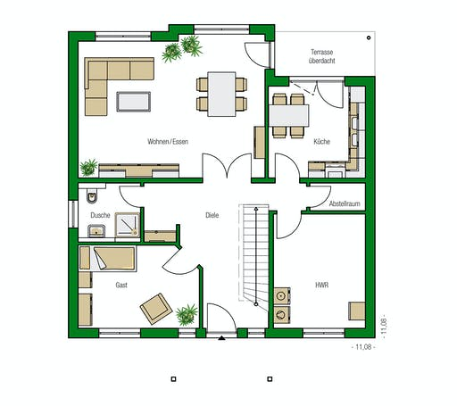 Helma - Florenz Floorplan 1