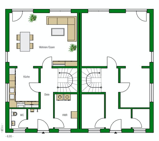 Helma - Glasgow Floorplan 1