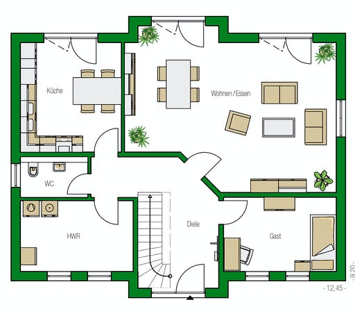 Helma - Hamburg Floorplan 1
