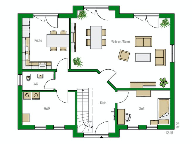 Helma - Hamburg Floorplan 1