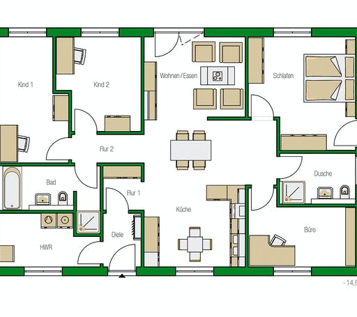 Helma - Kolding1 Floorplan 1