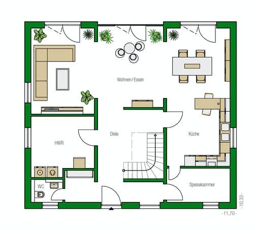 Helma - Leipzig Floorplan 1