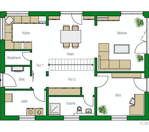 Helma - Lübeck 1 Floorplan 1