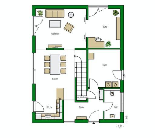 Helma - Luzern Floorplan 1