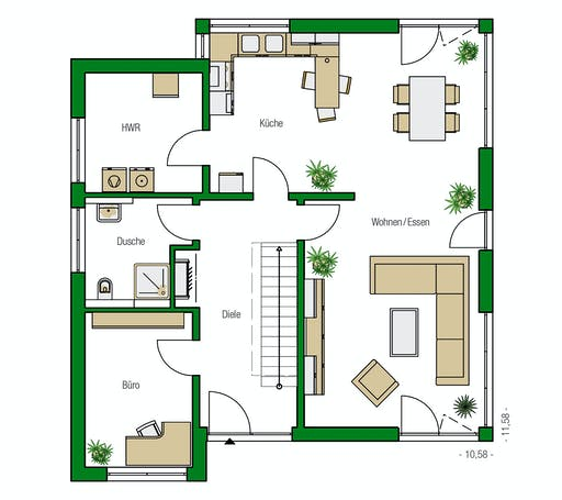 Helma - Madrid Floorplan 1