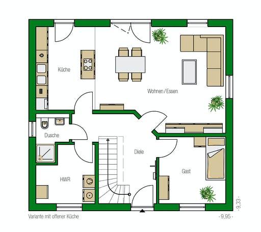 Helma - Mailand Floorplan 1